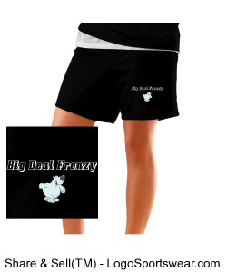 Womens eXtreme Mesh Basketball Shorts Design Zoom