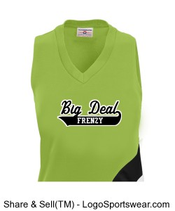 Womens Cyclone Sleeveless Racerback Jersey Design Zoom
